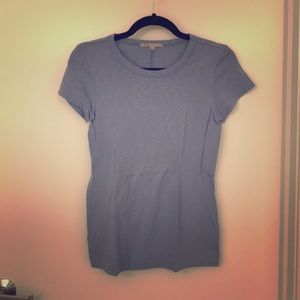 Blue short sleeved tee